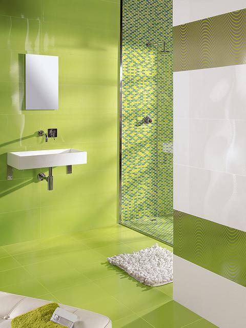 Azulejos Baño Verde Agua:PLATS DE DUTXA D'OBRA