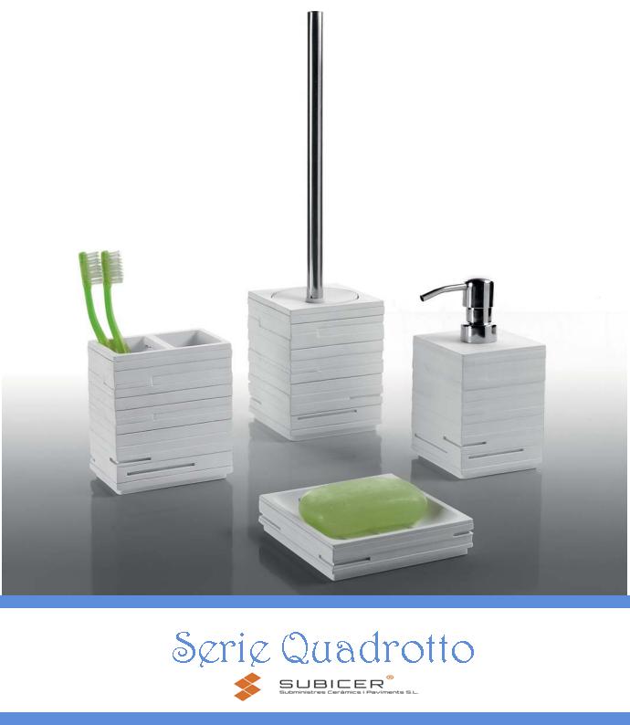 Subicer - Gedy - Accesorios de baño - Quadrotto